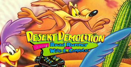 Desert Demolition game