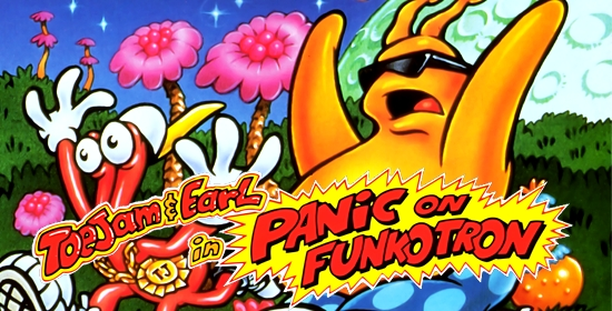 Toejam & Earl in Panic on Funkotron game