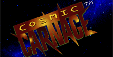Cosmic Carnage 32X