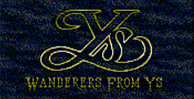 Ys 3 - Wanderer from Ys