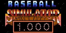 Baseball Simulator 1.000
