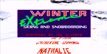 Tommy Moe's Winter Extreme: Skiing & Snowboarding