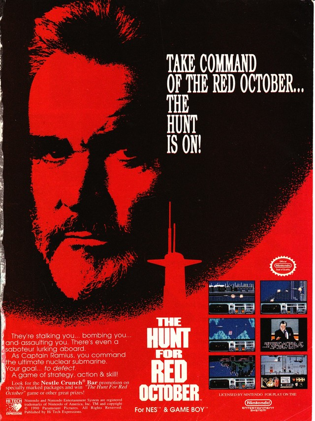 a review of the novel the hunt for red october by tom clancy The hunt for red october (1990  tom clancy (novel)  reviews & commentary write a review.
