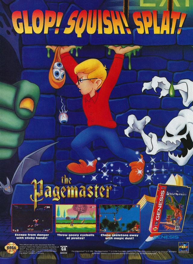 The Pagemaster Download Game Gamefabrique
