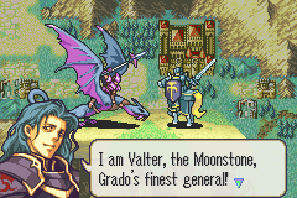 Fire Emblem The Sacred Stones Screenshots Gamefabrique