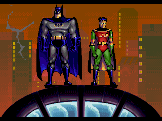 Batman (left) and Robin (right)