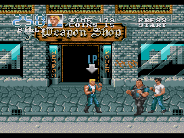 game double dragon