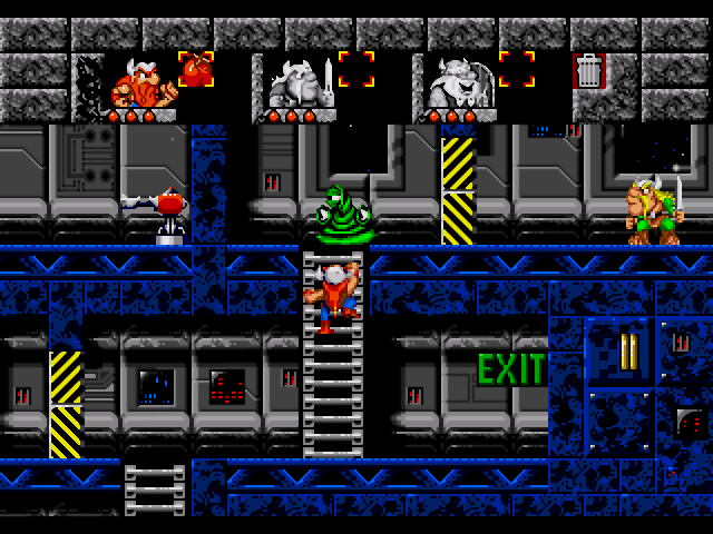 the lost game Help three vikings with each different skills to escape from the lair of the alien robots.