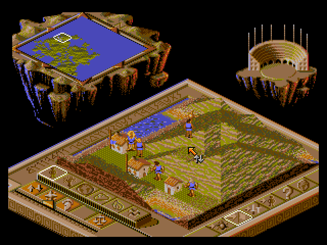 Populous 2 - Two Tribes Screenshots | GameFabrique