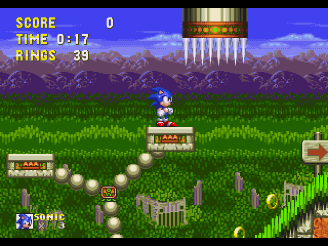 sonic the hedgehog 3 screenshots gamefabrique. Black Bedroom Furniture Sets. Home Design Ideas