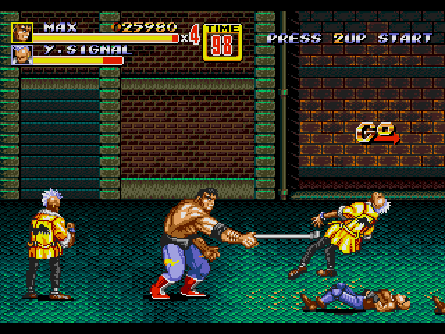 streets of rage 2 game free
