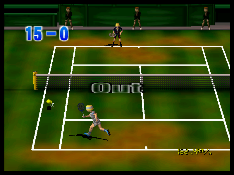 Centre Court Tennis Game