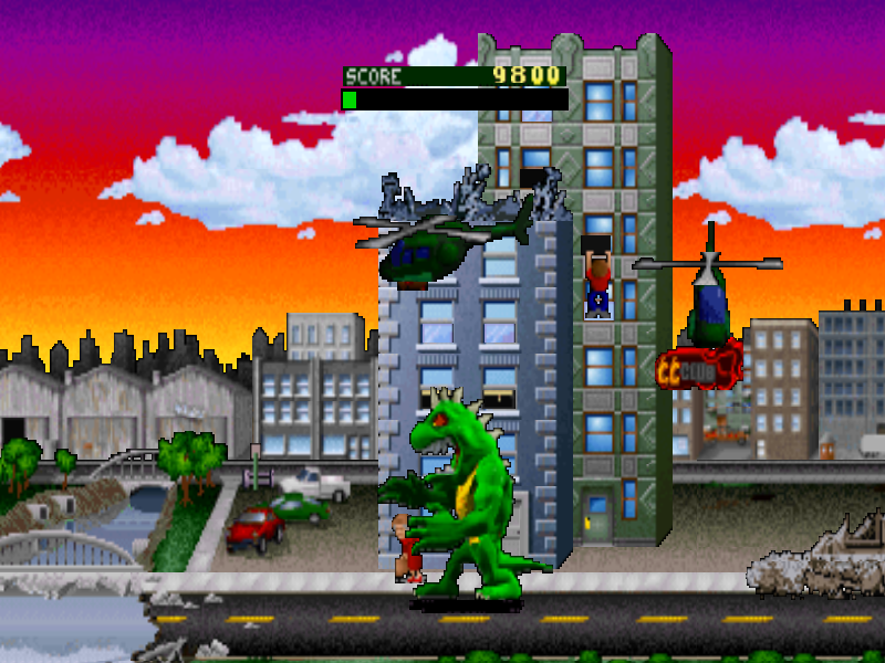 Rampage World Tour Screenshots Gamefabrique
