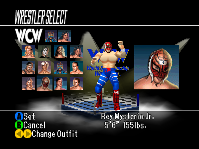 WCW vs. nWo: World Tour Game Download | GameFabrique
