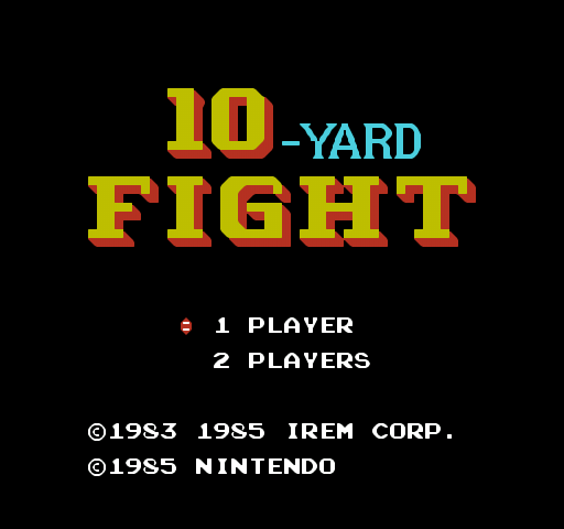 10 Fight 10: 10-Yard Fight Screenshots