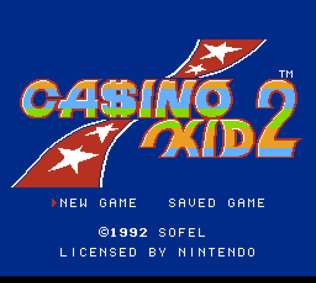 Casino kid walkthrough