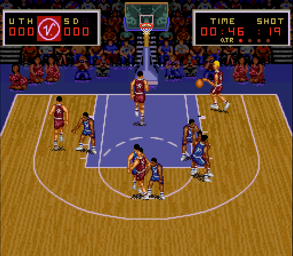 Super Slam Dunk Screenshots | GameFabrique