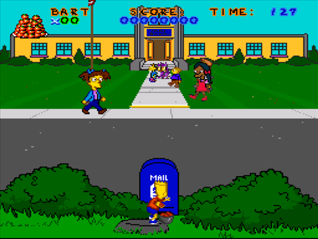 The Simpsons Virtual Bart Download Game Gamefabrique
