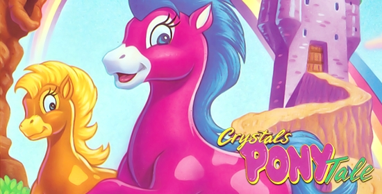 Crystal's Pony Tale Game