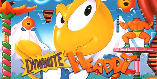 Dynamite Headdy Game