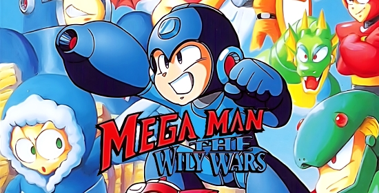Mega Man - The Wily Wars Game