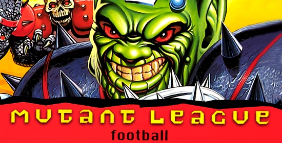 Mutant League Football Game