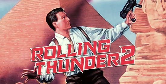 Rolling Thunder 2 Game