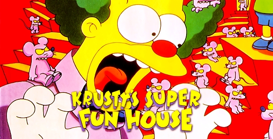 Krusty's Super Fun House Game