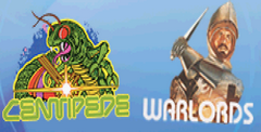 Centipede & Breakout & Warlords