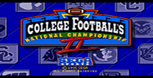 College Football's National Championship 2