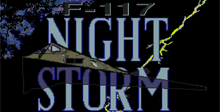 F-117 Stealth Operation Night Storm