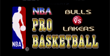 NBA Pro Basketball - Bulls vs Lakers