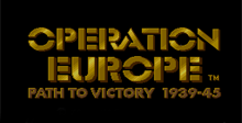 Operation Europe - Path to Victory 1939-1945