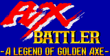 Ax Battler A Legend Of Golden Axe