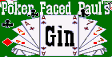 Poker Faced Pauls Gin