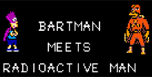 Simpsons The Bartman Meets Radioactive Man