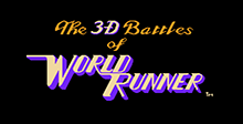 The 3D Battles of WorldRunner