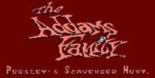 The Addams Family: Pugsley's Scavenger Hunt