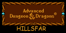 Advanced Dungeons and Dragons: Hillsfar