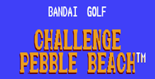 Bandai Golf: Challenge Pebble Beach