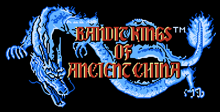 Bandit Kings of Ancient China