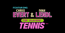 Evert and Lendl Top Players' Tennis