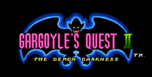 Gargoyle's Quest II: The Demon Darkness