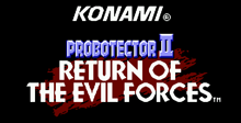 Probotector II: Return of the Evil Forces