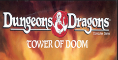 Dungeons And Dragons Tower of Doom