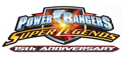 Power Rangers Super Legends 15th Anniversary