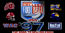 College Football USA '97: The Road to New Orleans