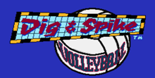 Dig and Spike Volleyball