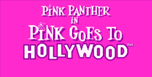 Pink Panther Goes to Hollywood