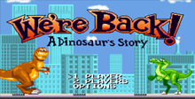 We're Back!: A Dinosaur Story